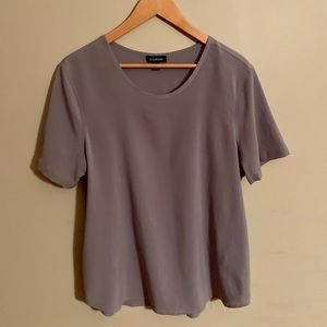 Le Chateau Grey Work Casual Top XL